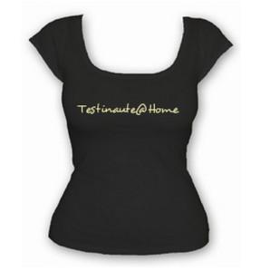 L 39 abricot blanc personnalise vos tee shirts testinaute home - Faire tee shirt personnalise ...