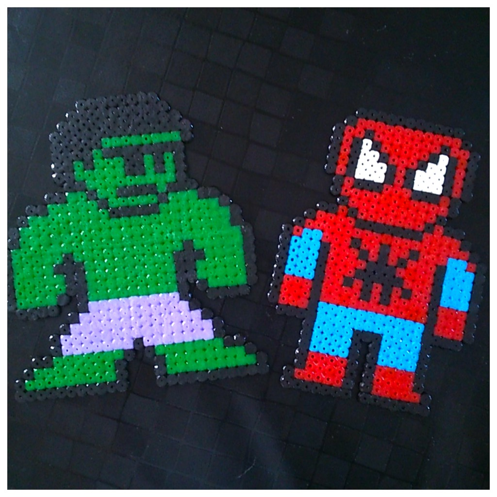Comment faire hulk et spiderman en perles repasser - Tete de spiderman a imprimer ...